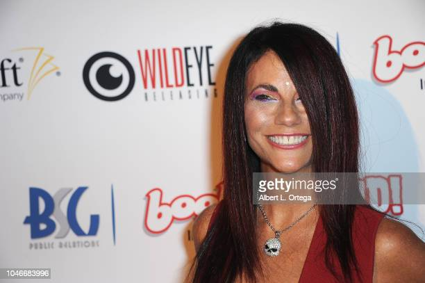 Actress Max Wasa attends the Scream QueenAthon Opening Night Party held at Mayflower Club Inc on October 5 2018 in North Hollywood California