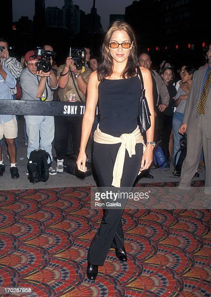 Actress Maxine Bahns attends the 35th Annual New York Film Festival 'Boogie Nights' Screening on October 8 1997 at Alice Tully Hall Lincoln Center in...