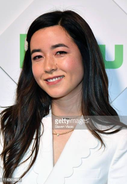 Actress Maya Erskine attends 2019 Hulu Upfront at Scarpetta on May 1 2019 in New York City