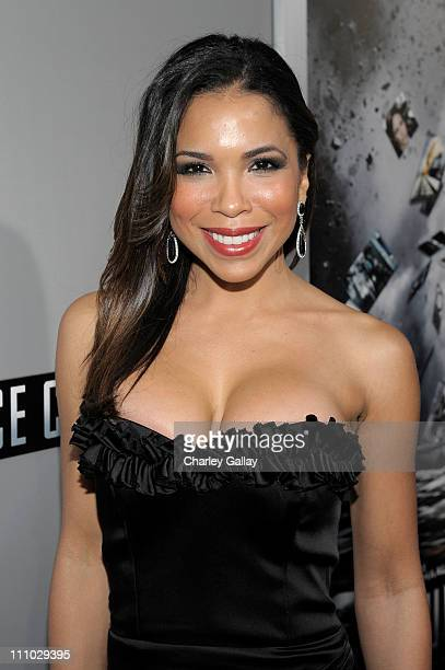Actress Maya Gilbert arrives at the premiere of Summit Entertainment's Source Code at ArcLight Cinemas on March 28 2011 in Los Angeles California