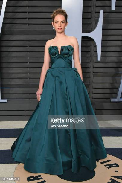 Actress Maya Hawke attends the 2018 Vanity Fair Oscar Party hosted by Radhika Jones at Wallis Annenberg Center for the Performing Arts on March 4,...