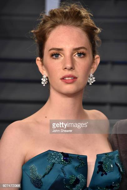Actress Maya Hawke attends the 2018 Vanity Fair Oscar Party hosted by Radhika Jones at Wallis Annenberg Center for the Performing Arts on March 4...