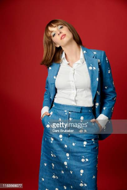 Actress Maya Hawke is photographed at Netflix's Junket for 'Stranger Things' Season 3 at The London Hotel on June 27 2019 in West Hollywood California