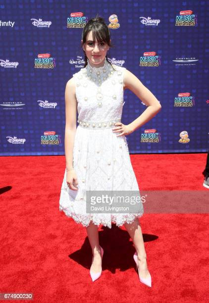 Actress Maya Jade Frank attends the 2017 Radio Disney Music Awards at Microsoft Theater on April 29 2017 in Los Angeles California