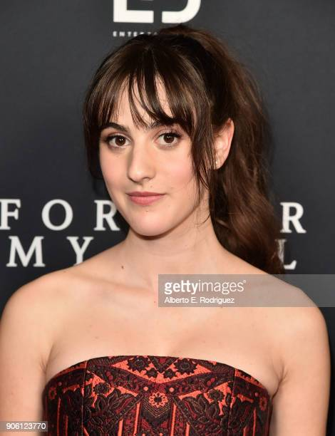 Actress Maya Jade Frank attends the premiere of Roadside Attractions' 'Forever My Girl' at The London West Hollywood on January 16 2018 in West...