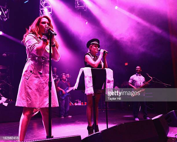 Actress Maya Rudolph and singer Gretchen Lieberum welcome saxophonis Karl Denson for an encore of Purple Rain as they perform as Princess their...