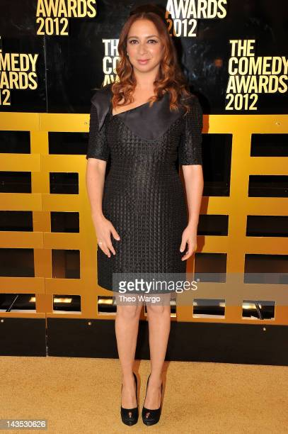 Actress Maya Rudolph attends The Comedy Awards 2012 at Hammerstein Ballroom on April 28, 2012 in New York City.