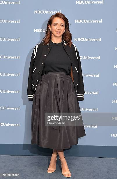 Actress Maya Rudolph attends the NBCUniversal 2016 Upfront Presentation on May 16 2016 in New York New York