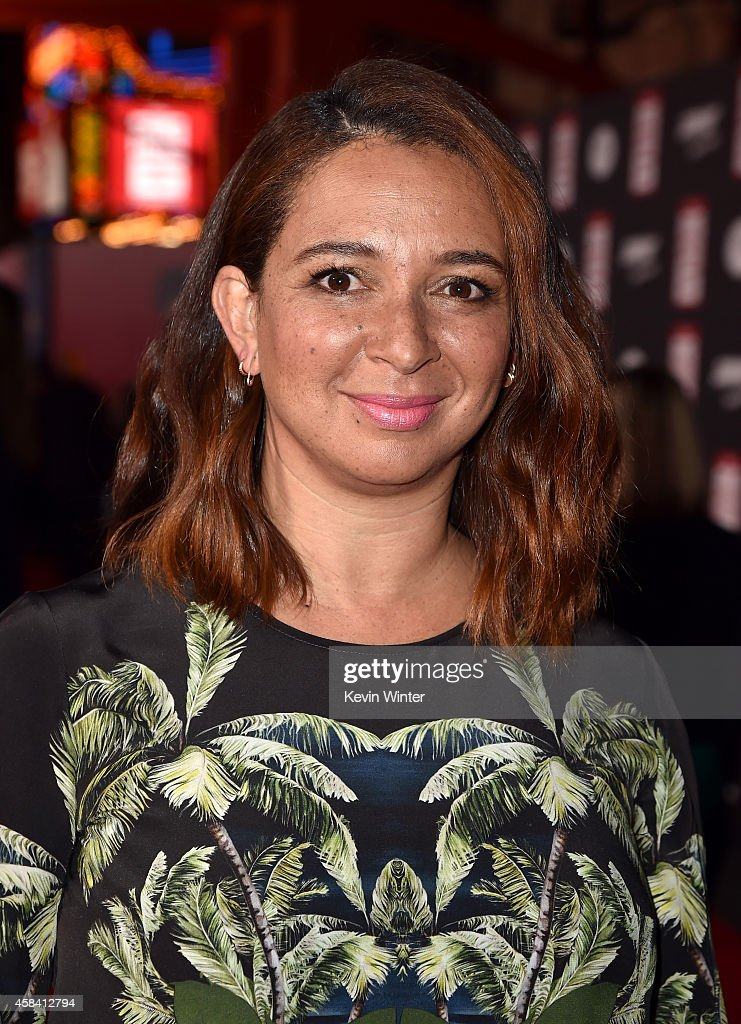 Actress Maya Rudolph attends the premiere of Disney's 'Big Hero 6' at the El Capitan Theatre on November 4, 2014 in Hollywood, California.