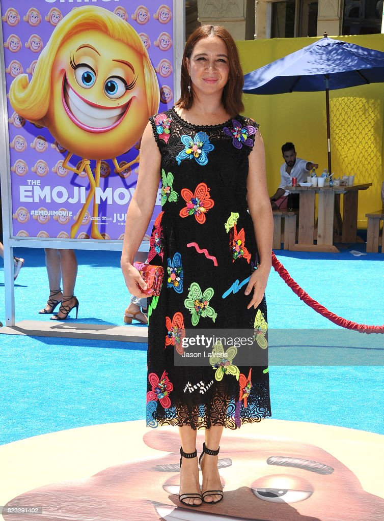 Actress Maya Rudolph attends the premiere of 'The Emoji Movie' at Regency Village Theatre on July 23, 2017 in Westwood, California.