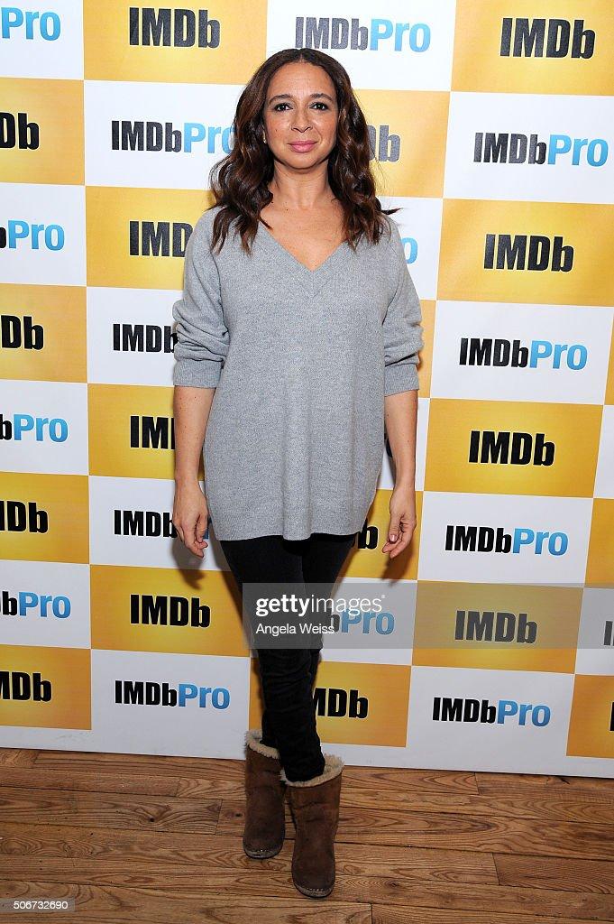 Actress Maya Rudolph in The IMDb Studio In Park City, Utah: Day Four - on January 25, 2016 in Park City, Utah.
