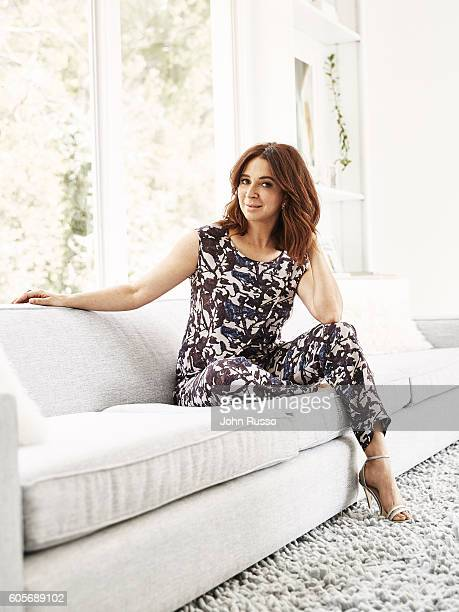 Actress Maya Rudolph is photographed for Ladies Home Journal Magazine on May 1 2016 in Los Angeles California