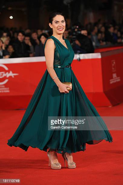Actress Maya Sansa attends the Voyez Comme Ils Dansent premiere during the 6th International Rome Film Festival on November 1 2011 in Rome Italy
