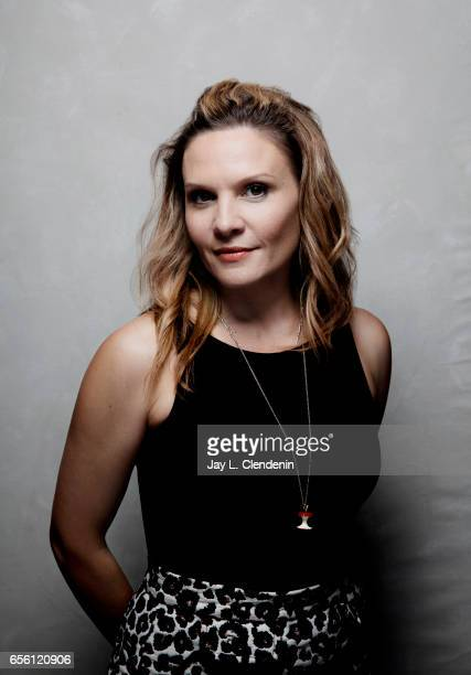 Actress Maya Stange from the film Killing Ground is photographed at the 2017 Sundance Film Festival for Los Angeles Times on January 20 2017 in Park...