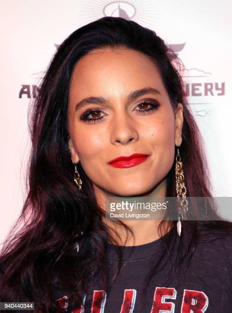 Actress Maya Stojan attends the 6th Annual Rock Against MS benefit concert and award show at the Los Angeles Theatre on March 31 2018 in Los Angeles...