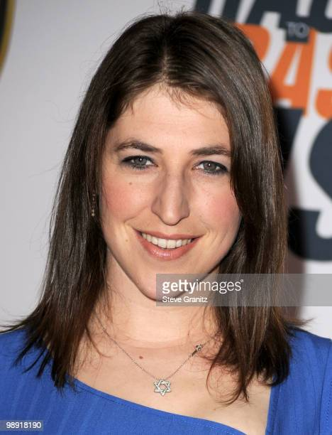 Actress Mayim Bialik arrives at the 17th Annual Race to Erase MS event cochaired by Nancy Davis and Tommy Hilfiger at the Hyatt Regency Century Plaza...