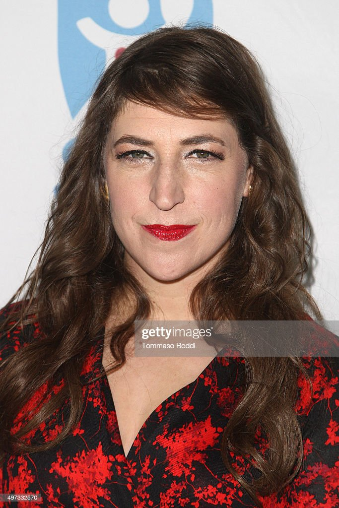 Actress Mayim Bialik attends the 2nd annual Save a Child's Heart Gala held at Sony Pictures Studios on November 15, 2015 in Culver City, California.