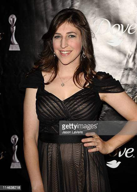 Actress Mayim Bialik attends the 36th annual Gracie Awards gala at The Beverly Hilton Hotel on May 24 2011 in Beverly Hills California