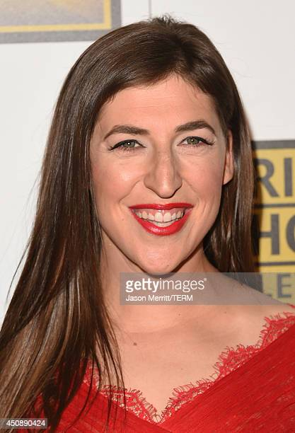 Actress Mayim Bialik attends the 4th Annual Critics' Choice Television Awards at The Beverly Hilton Hotel on June 19 2014 in Beverly Hills California