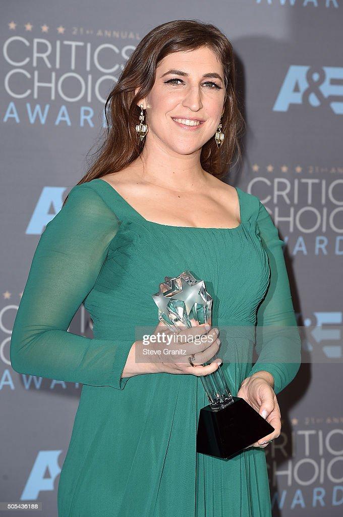 The 21st Annual Critics' Choice Awards - Press Room : News Photo