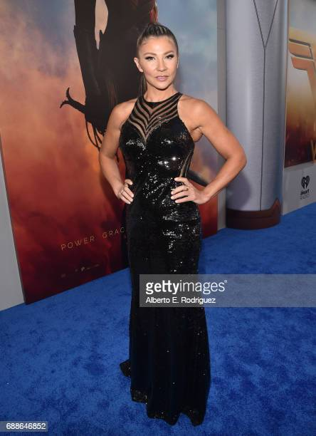 Actress Mayling Ng attends the premiere of Warner Bros Pictures' 'Wonder Woman' at the Pantages Theatre on May 25 2017 in Hollywood California
