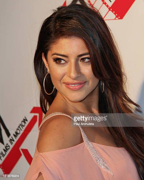 Actress Mayra Leal attends the Blood Out Los Angeles premiere at the Directors Guild Of America on April 25 2011 in Los Angeles California