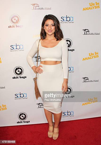 Actress Mayra Leal attends the special screening of Ur In Analysis at the Egyptian Theatre on July 1 2015 in Hollywood California