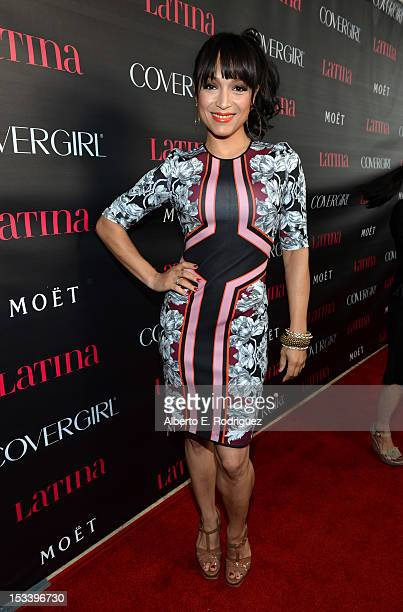 Actress Mayte Garcia arrives at the Latinos In Hollywood celebration with Latina Magazine at The London West Hollywood on October 4 2012 in West...