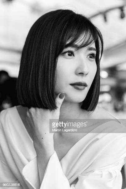 Actress Mayu Matsuoka is photographed for Self Assignment on May 2018 in Cannes France