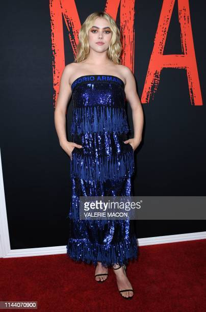 """Actress McKaley Miller arrives for Universal Pictures' special screening of """"Ma"""" at the Regal Cinemas L.A. Live on May 16, 2019 in Los Angeles."""