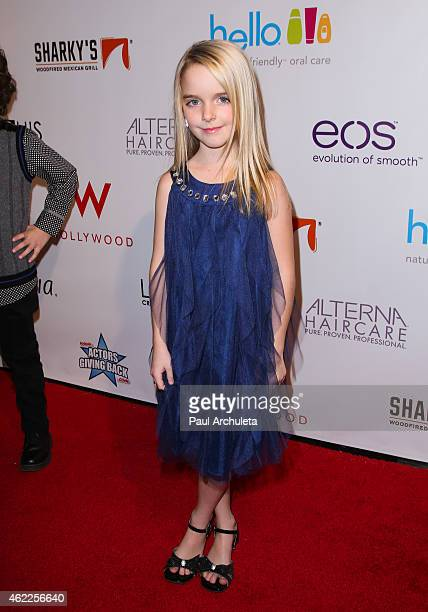 Actress McKenna Grace attends Paris Berelc Sweet Sixteen Birthday Party at the loft and rooftop Wet Deck at The W Hotel Hollywood on January 25 2015...