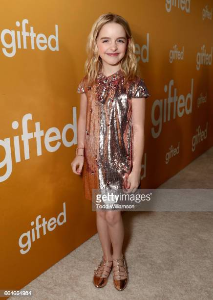 Actress Mckenna Grace attends the Los Angeles Premiere of GIFTED at Pacific Theatres at The Grove on April 4 2017 in Los Angeles California