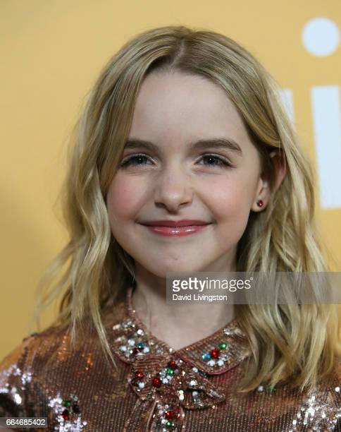 Actress Mckenna Grace attends the premiere of Fox Searchlight Pictures' Gifted at Pacific Theaters at The Grove on April 4 2017 in Los Angeles...