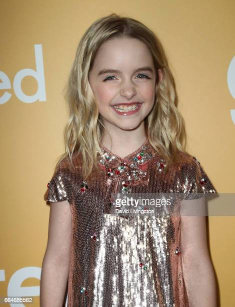 Actress Mckenna Grace attends the premiere of Fox Searchlight Pictures' 'Gifted' at Pacific Theaters at The Grove on April 4 2017 in Los Angeles...
