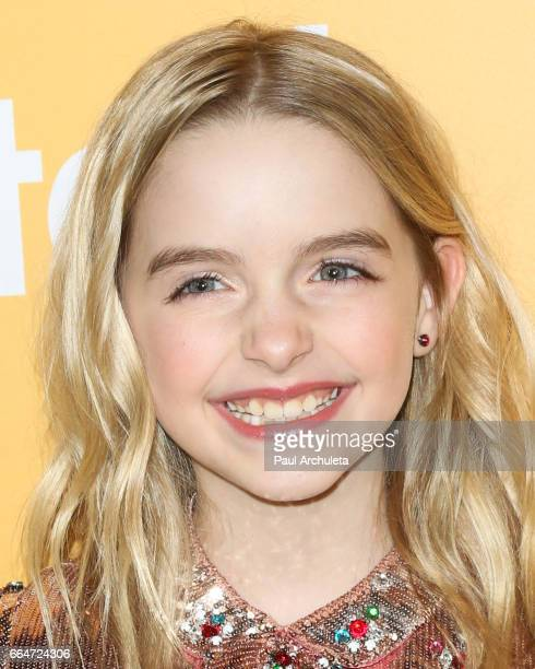 Actress Mckenna Grace attends the premiere of 'Gifted' at Pacific Theaters at the Grove on April 4 2017 in Los Angeles California