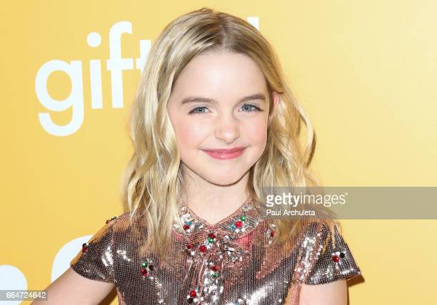 Actress Mckenna Grace attends the premiere of Gifted at Pacific Theaters at the Grove on April 4 2017 in Los Angeles California