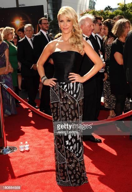 Actress McKenzie Westmore attends the 2013 Creative Arts Emmy Awards at Nokia Theatre LA Live on September 15 2013 in Los Angeles California