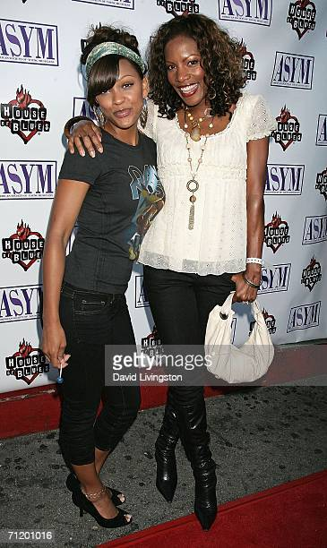 Actress Meagan Good and musician Shauney Baby attend the 14th annual American Society of Young Musicians' House of Blues Spring Benefit Concert...