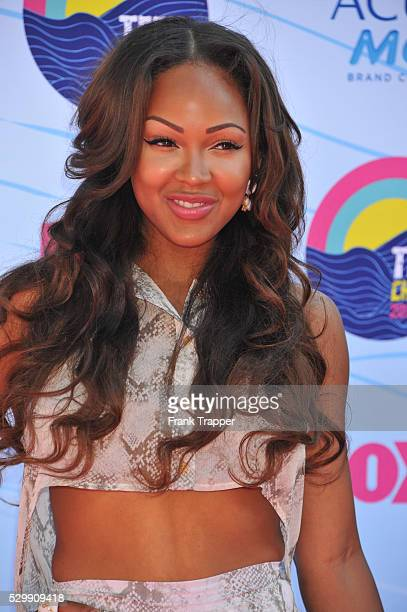 Actress Meagan Good arrives at the 2012 Teen Choice Awards held at the Gibson Amphitheatre in Universal City California
