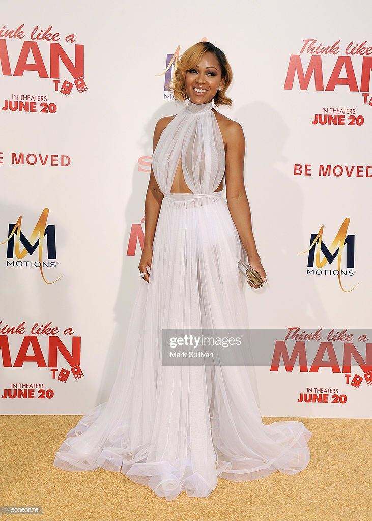 Actress Meagan Good arrives for the premiere of 'Think Like A Man Too' at TCL Chinese Theatre on June 9, 2014 in Hollywood, California.