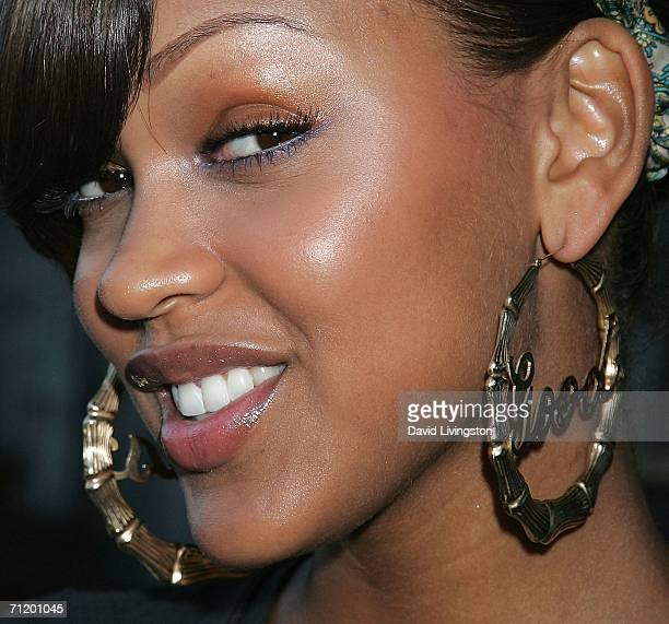 Actress Meagan Good attends the 14th annual American Society of Young Musicians' House of Blues Spring Benefit Concert Awards Show at the House of...