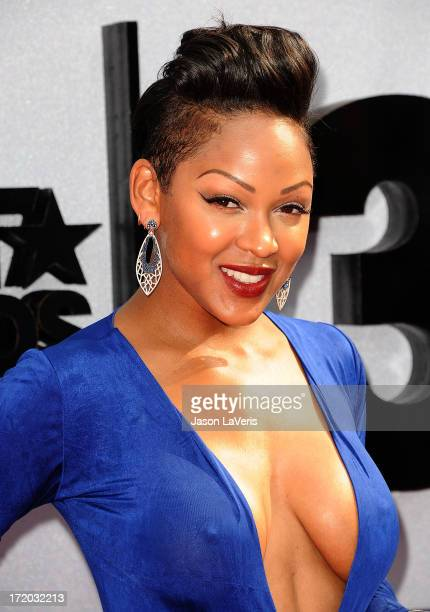 Actress Meagan Good attends the 2013 BET Awards at Nokia Theatre LA Live on June 30 2013 in Los Angeles California