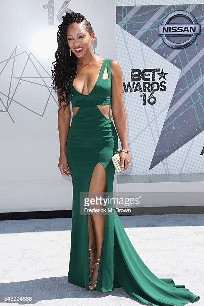 Actress Meagan Good attends the 2016 BET Awards at the Microsoft Theater on June 26 2016 in Los Angeles California