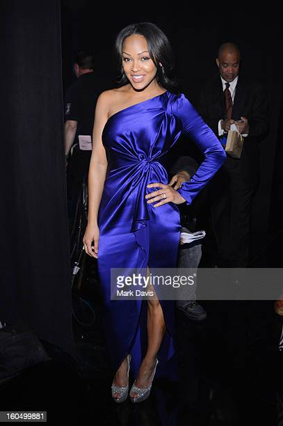 Actress Meagan Good attends the 44th NAACP Image Awards at The Shrine Auditorium on February 1 2013 in Los Angeles California