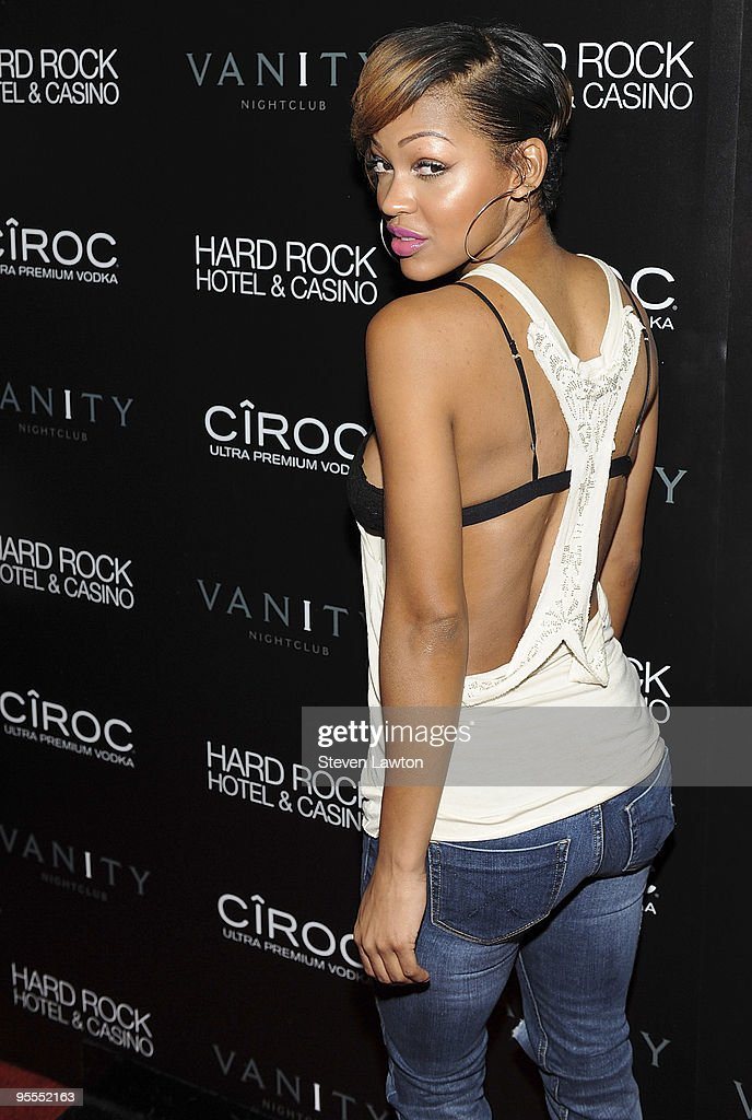 Actress Meagan Good attends the grand opening of the Vanity nightclub hosted by Sean Diddy Combs at the Hard Rock Hotel and Casino on January 2, 2010 in Las Vegas, Nevada.