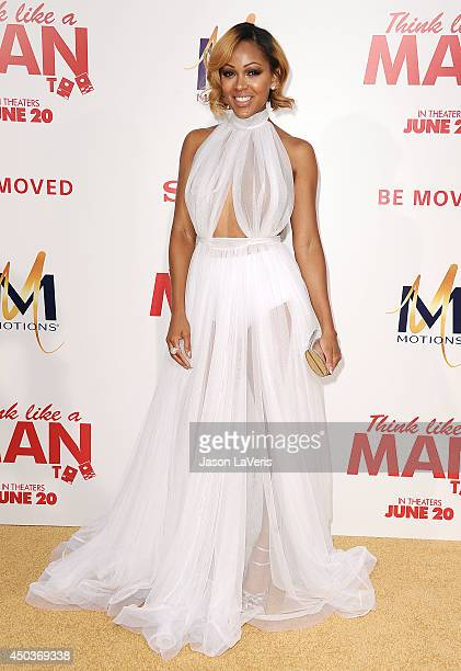 Actress Meagan Good attends the premiere of 'Think Like A Man Too' at TCL Chinese Theatre on June 9 2014 in Hollywood California