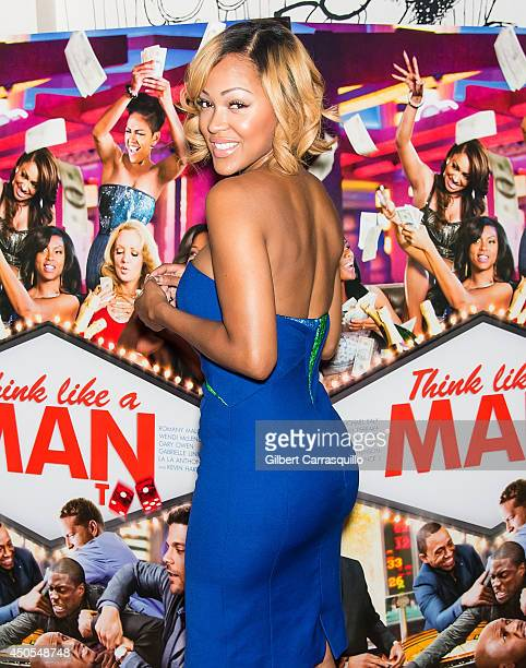Actress Meagan Good attends the 'Think Like A Man Too' screening at the Prince Music Theater on June 12 2014 in Philadelphia Pennsylvania