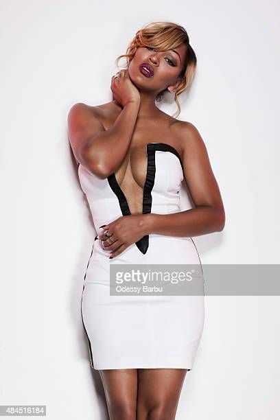 Actress Meagan Good is photographed for ATTRACT Magazine on March 10 2015 in Los Angeles California