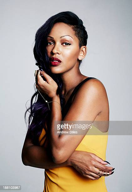 Actress Meagan Good is photographed for Self Assignment on September 11 2013 in Santa Monica California