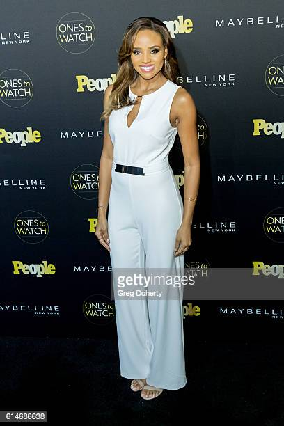 Actress Meagan Tandy arrives at the People's Ones To Watch party at EP LP on October 13 2016 in West Hollywood California